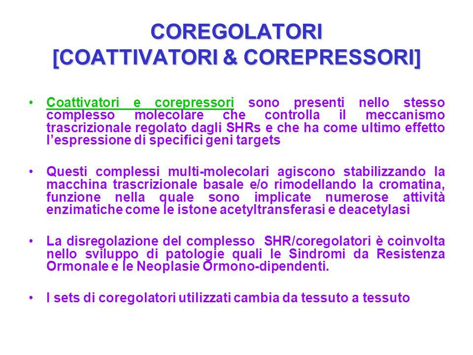 COREGOLATORI [COATTIVATORI & COREPRESSORI]